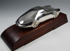 Porsche Sterling Silver Sculpture Desk Model - 1205221