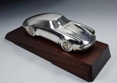 Porsche Sterling Silver Sculpture Desk Model - 1205222