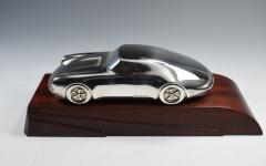 Porsche Sterling Silver Sculpture Desk Model - 1205229