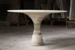 Port Saint Laurent Refined Contemporary Marble Low Table - 1617044