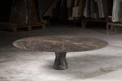 Port Saint Laurent Refined Contemporary Marble Low Table - 1617047
