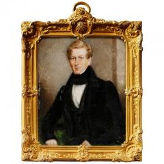 Portrait Miniature of Sir George Douglas Baronet by J C D Engleheart 1821 - 1708324