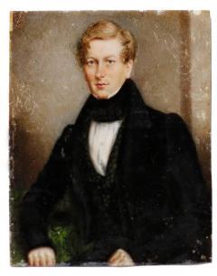 Portrait Miniature of Sir George Douglas Baronet by J C D Engleheart 1821 - 1708369