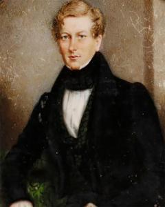 Portrait Miniature of Sir George Douglas Baronet by J C D Engleheart 1821 - 1709499