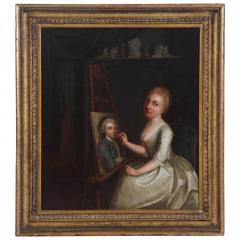 Portrait Painting of Rosalba Carriera - 847696