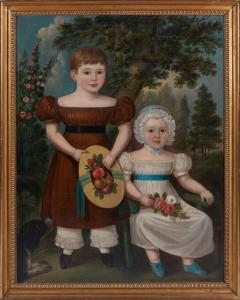 Portrait of Two Children - 1571829