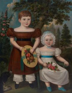 Portrait of Two Children - 1572196