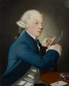 Portrait of a Gentleman Writing a Letter - 35252