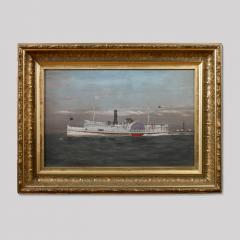 Portrait of the Paddle Wheel Ship Penobscot - 35249