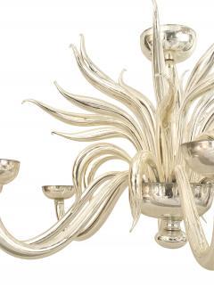 Post War Design Italian Venetian Murano Chandelier - 917932