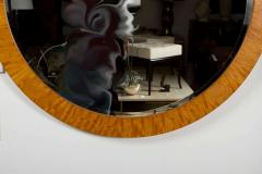 PostModern Prima Vera Inlay Mirror by Charles Pfister for Baker Furniture Co  - 778596