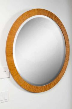 PostModern Prima Vera Inlay Mirror by Charles Pfister for Baker Furniture Co  - 778602