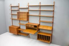 Poul Cadovius Large Wall System in Teak Wood by Poul Cadovius for Cado Denmark - 1297798