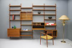 Poul Cadovius Large Wall System in Teak Wood by Poul Cadovius for Cado Denmark - 1297799