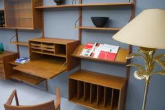 Poul Cadovius Large Wall System in Teak Wood by Poul Cadovius for Cado Denmark - 1297801