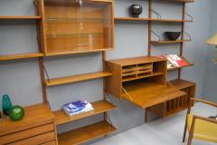 Poul Cadovius Large Wall System in Teak Wood by Poul Cadovius for Cado Denmark - 1297802