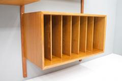 Poul Cadovius Large Wall System in Teak Wood by Poul Cadovius for Cado Denmark - 1297803