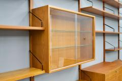 Poul Cadovius Large Wall System in Teak Wood by Poul Cadovius for Cado Denmark - 1297807