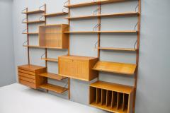 Poul Cadovius Large Wall System in Teak Wood by Poul Cadovius for Cado Denmark - 1297808