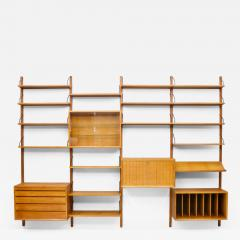 Poul Cadovius Large Wall System in Teak Wood by Poul Cadovius for Cado Denmark - 1299242