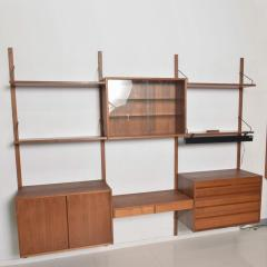 Poul Cadovius Poul Cadovius CADO Royal System Wall Unit in Teak Mid Century Danish Modern - 1555357