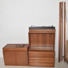 Poul Cadovius Poul Cadovius CADO Royal System Wall Unit in Teak Mid Century Danish Modern - 1555358