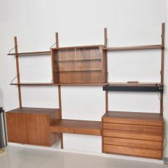 Poul Cadovius Poul Cadovius CADO Royal System Wall Unit in Teak Mid Century Danish Modern - 1555359