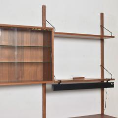 Poul Cadovius Poul Cadovius CADO Royal System Wall Unit in Teak Mid Century Danish Modern - 1555360
