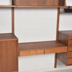 Poul Cadovius Poul Cadovius CADO Royal System Wall Unit in Teak Mid Century Danish Modern - 1555362