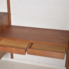 Poul Cadovius Poul Cadovius CADO Royal System Wall Unit in Teak Mid Century Danish Modern - 1555364