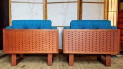 Poul Cadovius Poul Cadovius Lounge Chairs Basket Weave Pair 1962 - 2067557