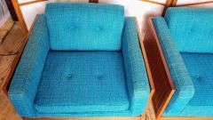Poul Cadovius Poul Cadovius Lounge Chairs Basket Weave Pair 1962 - 2067560