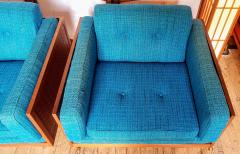 Poul Cadovius Poul Cadovius Lounge Chairs Basket Weave Pair 1962 - 2067563