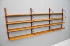 Poul Cadovius Poul Cadovius Teak Wood Wall System Royal Denmark 1960s - 1297655