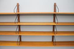 Poul Cadovius Poul Cadovius Teak Wood Wall System Royal Denmark 1960s - 1297656