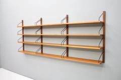 Poul Cadovius Poul Cadovius Teak Wood Wall System Royal Denmark 1960s - 1297657