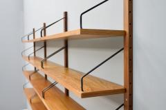 Poul Cadovius Poul Cadovius Teak Wood Wall System Royal Denmark 1960s - 1297658