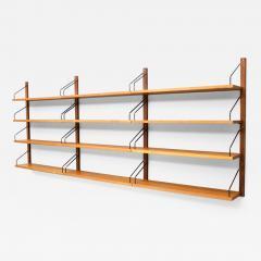 Poul Cadovius Poul Cadovius Teak Wood Wall System Royal Denmark 1960s - 1301058