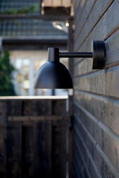 Poul Henningsen Louis Poulsen Todbold Outdoor Wall Light in Black - 1496744