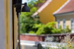 Poul Henningsen Louis Poulsen Todbold Outdoor Wall Light in Black - 1496749
