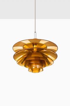 Poul Henningsen Poul Henningsen Ceiling Lamp Model PH Septima 5 by Louis Poulsen in Denmark - 1780350