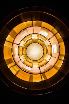 Poul Henningsen Poul Henningsen Ceiling Lamp Model PH Septima 5 by Louis Poulsen in Denmark - 1780355