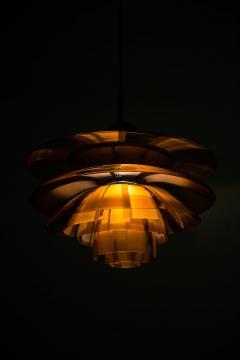Poul Henningsen Poul Henningsen Ceiling Lamp Model PH Septima 5 by Louis Poulsen in Denmark - 1780358