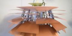 Poul Henningsen The Artichoke pendant lamp Top shade in white metal - 1339334