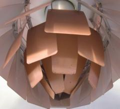 Poul Henningsen The Artichoke pendant lamp Top shade in white metal - 1339336