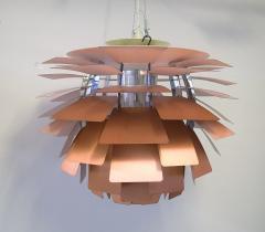 Poul Henningsen The Artichoke pendant lamp Top shade in white metal - 1339340