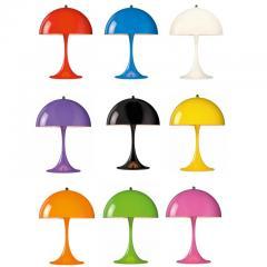 Poul Henningsen Verner Panton Panthella Mini Table Lamp in Chrome for Louis Poulsen - 537121