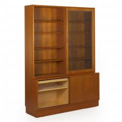 Poul Hundevad Danish Mid Century Modern Teak Bookcase Bookshelf Cabinet by Poul Hundevad - 1113702