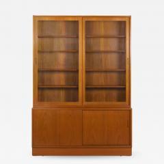 Poul Hundevad Danish Mid Century Modern Teak Bookcase Bookshelf Cabinet by Poul Hundevad - 1113764