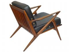 Poul Jensen Danish Modern Z Lounge Chairs by Poul Jensen - 1052207
